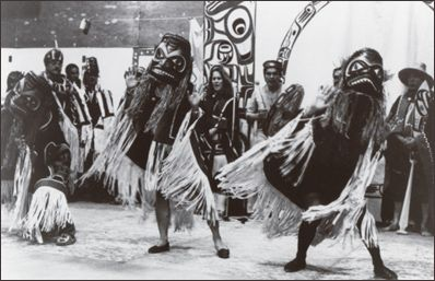 Haida Gwaii potlatch and costumes | Wow! British Columbia ...
