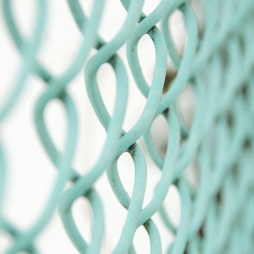 Turquoise fencing