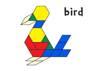 Lots of free printables for pattern blocks!