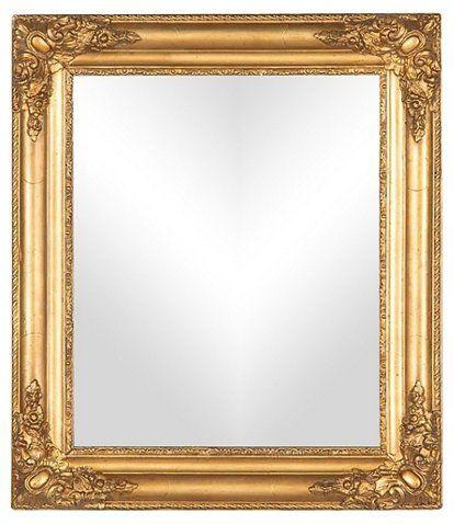 French Napoleon III Giltwood Mirror | Mirror frame diy ...