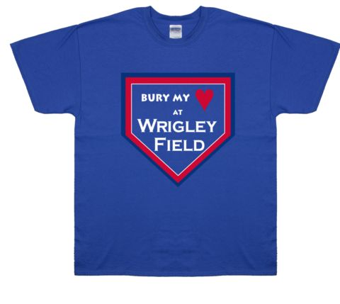 Wrigley Field Chicago Cubs Chicago T-Shirts