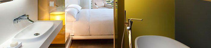 Tono Bagno. grifería Patricia Urquiola Axor para baños hotel Mandarin Oriental. Barcelona