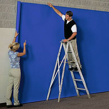 Our Royal Blue Seamless Paper allows to you cover a large area with ease.
