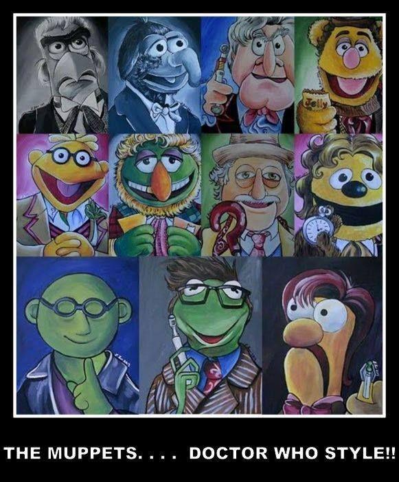 60 Best Muppet Fan Images On Pinterest: 844 Best Timey Wimey Fan Art Images On Pinterest