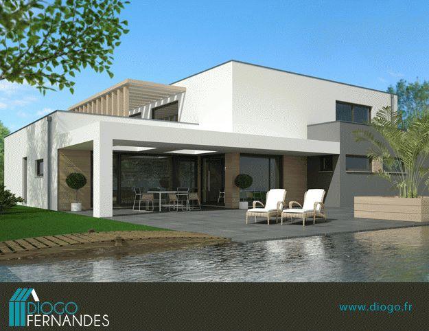 Petite maison toit plat misons idoz hd wallpapers maison - Petite maison toit plat ...
