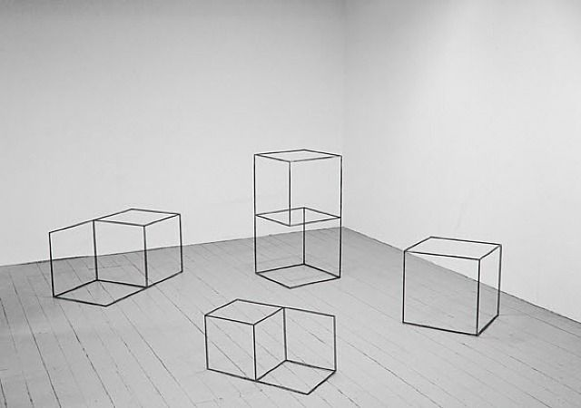 Necker cubes by Ebbe Stub Wittrup