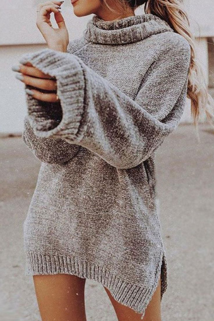 e3f9a888b15 Turtleneck sweater dress. You gonna love it😍