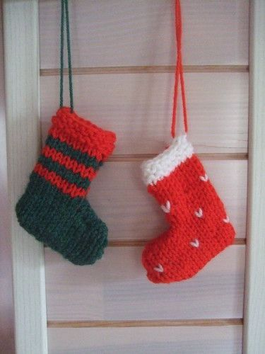 1000 id es sur le th me tricot de no l sur pinterest ornements de no l tric - Botte de noel a faire soi meme ...