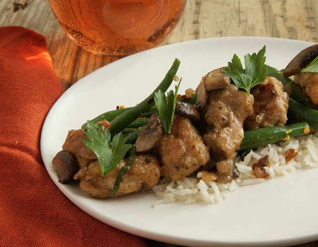 Chicken Moscato by Gaby Dalkin of What's Gaby Cooking. Make tonight delicious. http://www.chefd.com/collections/all/products/lemon-and-herb-chicken