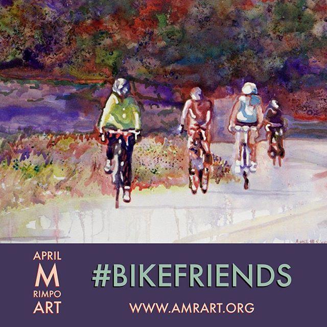 Explore April M RImpo's art at www.AMRart.org #bikefriends #bicycles #cyclists #BikeFriday #BicycleFriendlyFriday #travel #lovebike #cyclist #bicycle #cycling #roadbike #triathlon #swimbikerun #travelgrams #lovetotravel #travelescapes #darlingescapes #traveldiary #SImplyAdventure #Flashesofdelight  #MyTinyAtlas #BeautifulDestinations  #explorecolorandlight #hocoarts #aprilrimpo #fluidacrylic #letpaintrun  #landscapes #peopleinaction #ecac  @horsespiritarts @touchstonewdc @AprilRimpo…