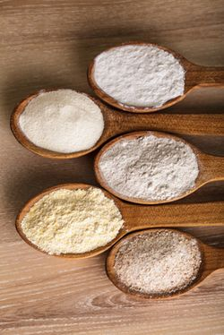 Types of Flour used in German Baking.    I once tried to make Zimsterne cookies at Christmas from a German cookbook (in English). They were pretty disastrous. Perhaps this would have helped.