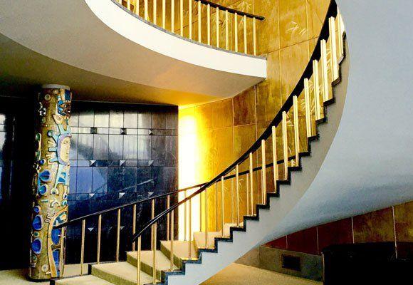 Escalera en el Hotel Ritz de Lisboa