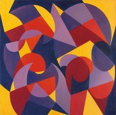 Giacomo Balla - Tik Tak, 1925 - Olio su tela, 77 x 77 cm