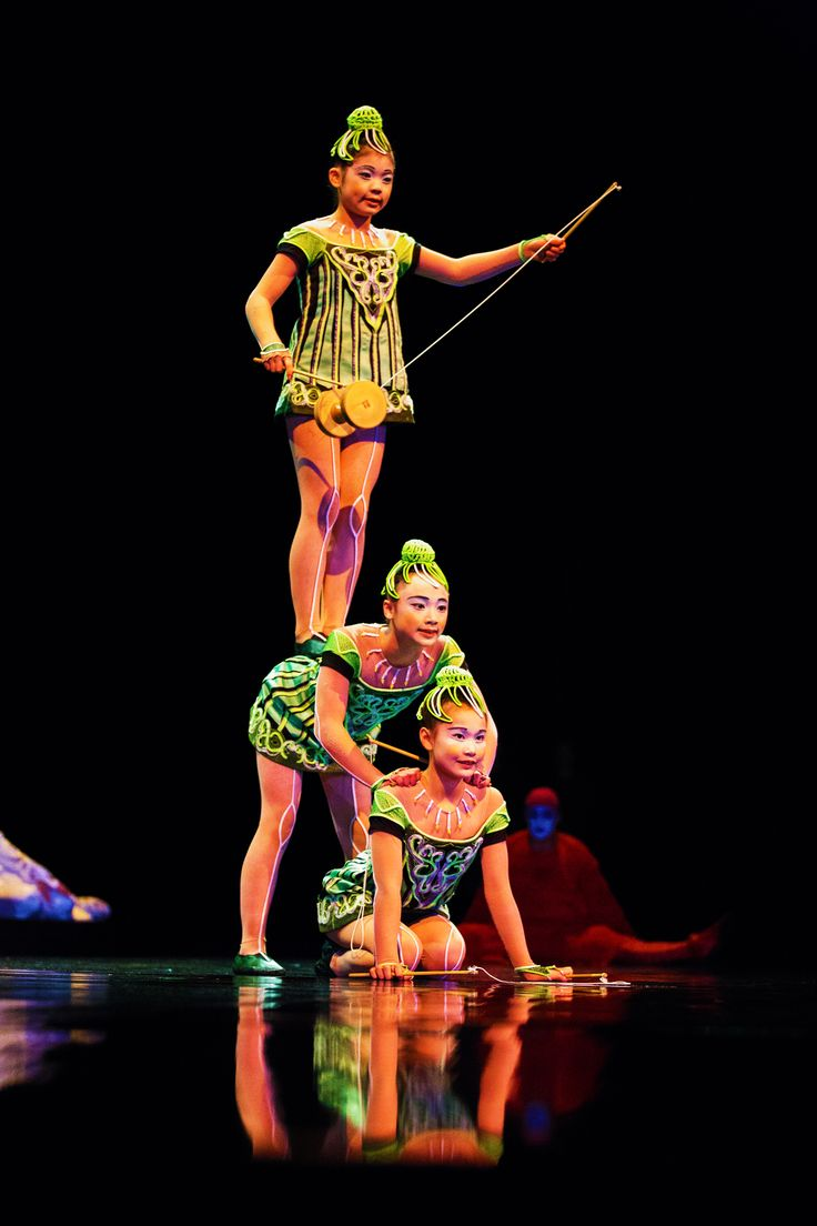 Cirque Du Soleil Japan: Did You Know: There Are 17 Countries Represented In Our
