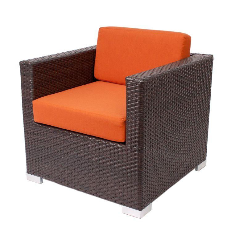 """""""Aruba"""" lounge furniture #armchair #RestaurantFurniture #restaurant #hospitality #sofa #ModularFurniture #LoungeFurniture #OutdoorFurniture #design #wicker #aluminum #outdoor"""