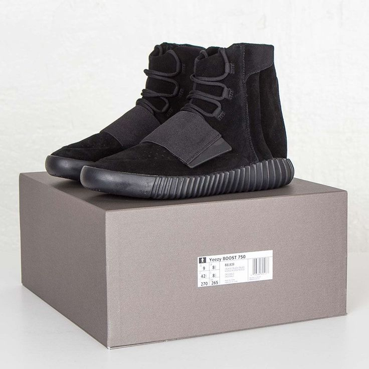 adidas Yeezy Boost 750 Black - EU Kicks: Sneaker Magazine