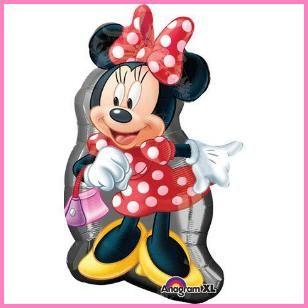"New! Minnie Mouse Full Body 32"" Super Mylar Balloon $7.29 Cdn http://www.allthatstuff.net/Minnie/minnie-mouse-party-supplies.html"