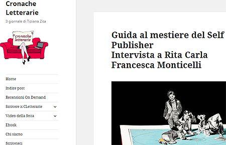Intervista su Cronache Letterarie: tra #selfpublishing e serie TV http://dld.bz/f4PFx