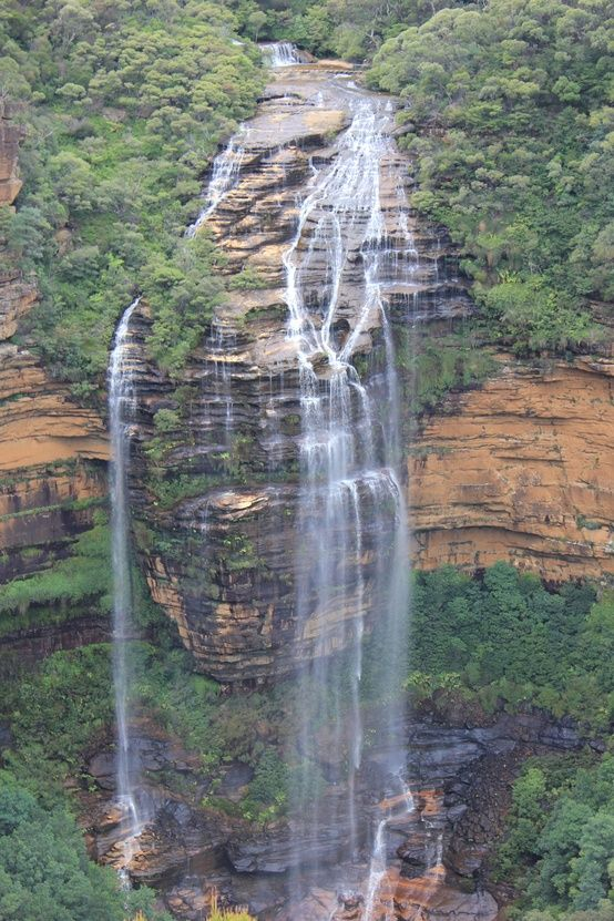 ダイナミックな滝。ブルーマウンテンズの美しい写真を集めました。