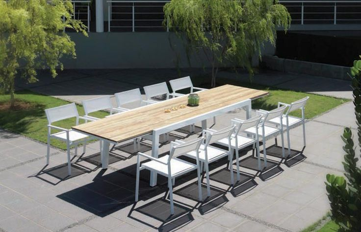 78 Best images about Alu  u0026 Inox Garden Furniture on Pinterest   Gardens, Taupe and Miami
