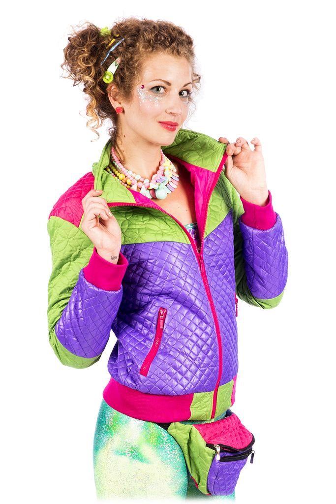 State of Disarray! Purple & Green - Puffer Jacket  #stateofdisarray #recklessfashionrevolution #festivalfashion #festivaloutfit #streetstyle #fashiondesigner #summerstyle #ootd #skijacket #pufferjacket #glitter #summerski #fashionweek #ravewear #clubkid #edm #secretgardenparty #burningman #boomtown #coachella #glastonbury #ibiza #shambala #rainbow #bubblegum #candyfloss #80's #fancydress #dressup #costume #statementfashion #harajukufashion #kawaiifashion #kawaii #harajuku