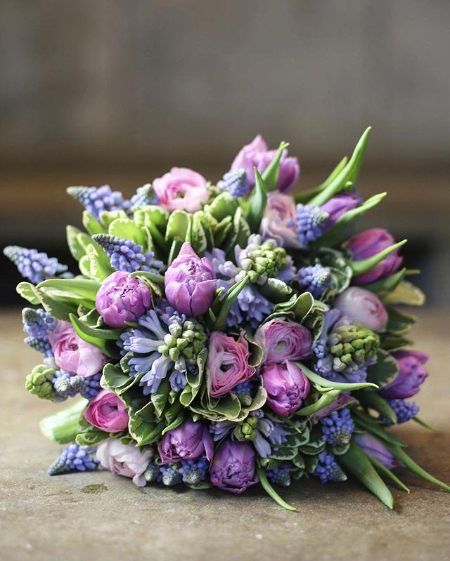 #Tulip #anemone #muscari #McQueens #flowers #florist #london #londonflorist #londonflowers