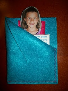 Sleeping bag invites for a slumber party!