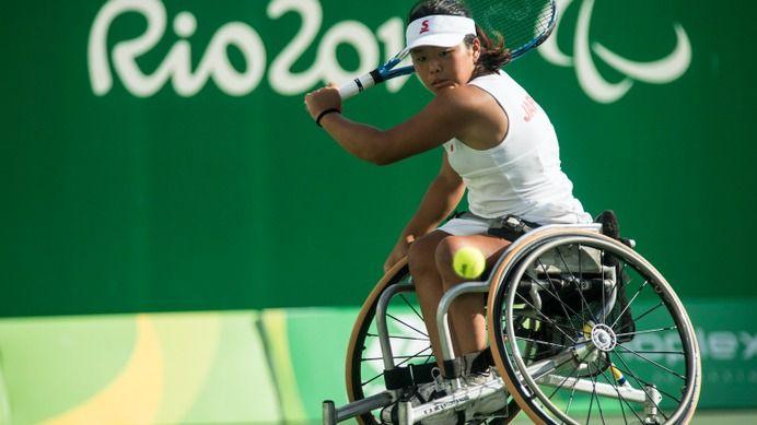 上地結衣、リオパラリンピック車いすテニスシングルスで銅メダル獲得