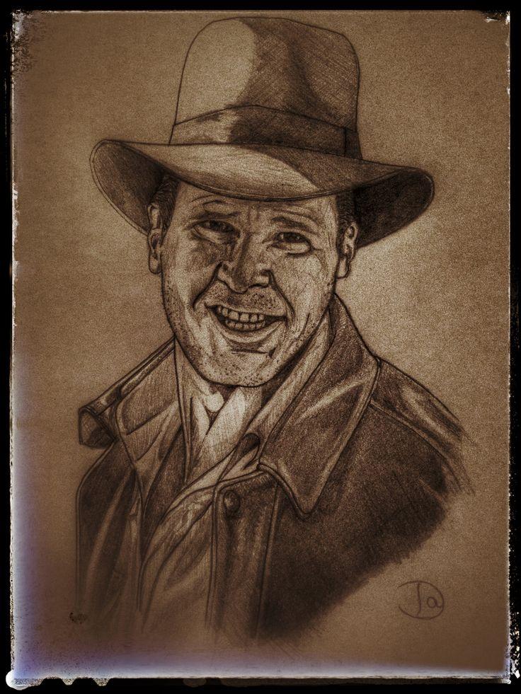 Indiana Jones (Last crusade), lápiz.