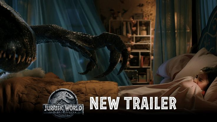 JURASSIC WORLD: FALLEN KINGDOM starring Christ Pratt & Bryce Dallas Howard | Official Trailer #2 | In theaters June 22, 2018