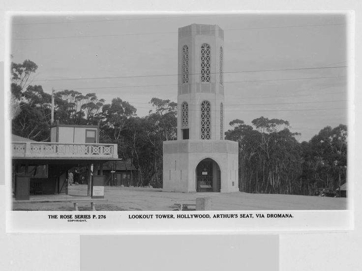 Arthurs Seat Tower - Demolished 2011