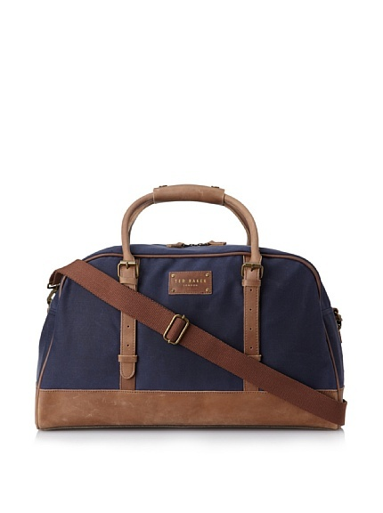 Ted Baker Men's Canhol Waxed Canvas Holdall