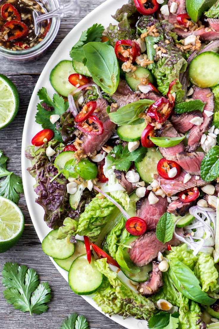 Steak Salad Bbc Good Food