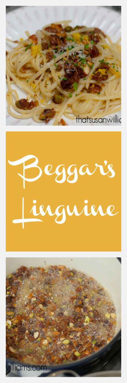 Beggar's Linguine is the perfect meal for when you've got nothing in the fridge, but a well supplied pantry. Quick, easy and amazingly delicious!