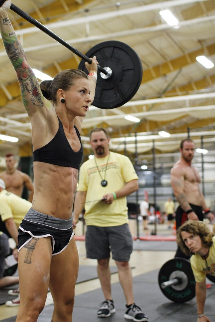 Christmas Abbott - my crossfit inspiration. She is a total bad ass! I will be starting crossfit next month.....I want to look like her!!! Strong!!!