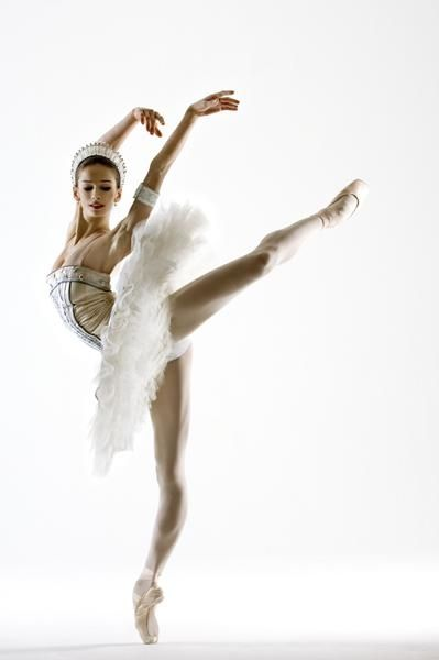 Polina Semionova. Hired as a principle dancer for the Berlin Ballet right out of school and now dancing with ABT.