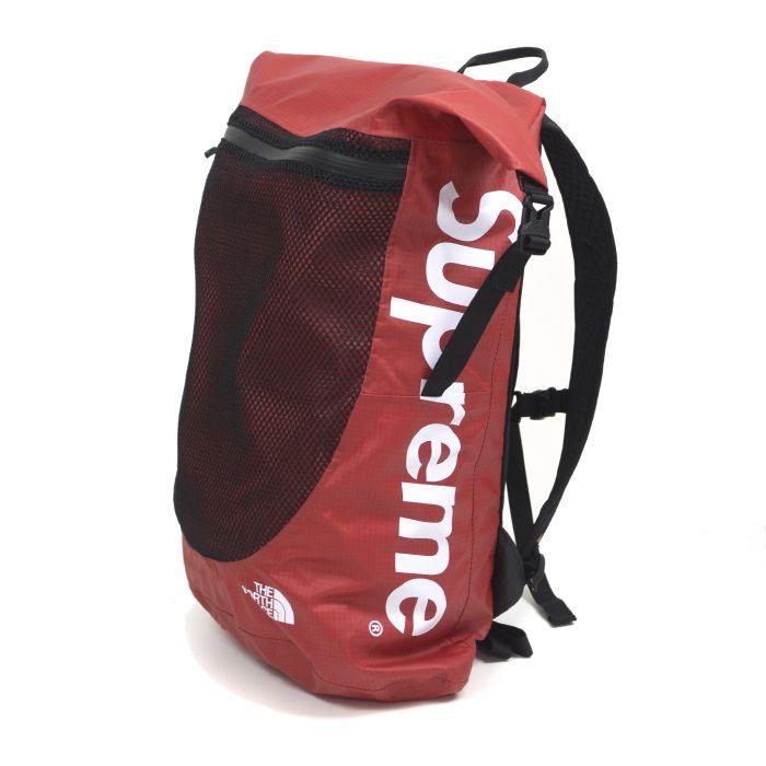 Supreme × The North Face / シュプリーム × ノースフェイスWaterproof Backpack / ウォータープルーフ バックパック 防水Red / レッド2017SS 国内正規品 新古品【中古】