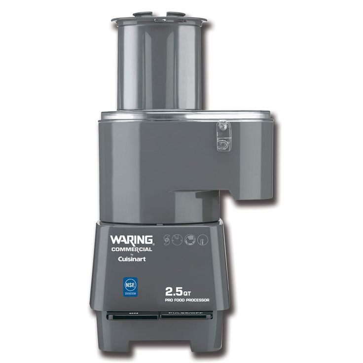 Waring FP25C Cuisinart 2.5 Qt. Combination Continuous Feed / Batch Bowl Food Processor - 120V