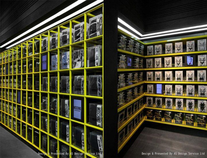 UM mens underwear store AS Design Shenzen 06 UM mens underwear store by AS Design, Shenzhen