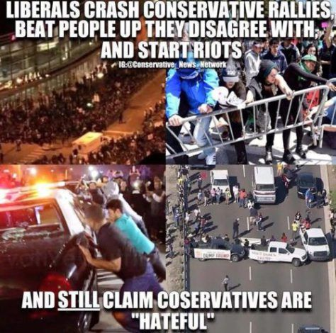 And we're the intolerant ones.... because as conservatives we disagree with them...