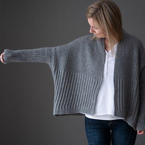 Winter Lines pattern by Katrin Schneider