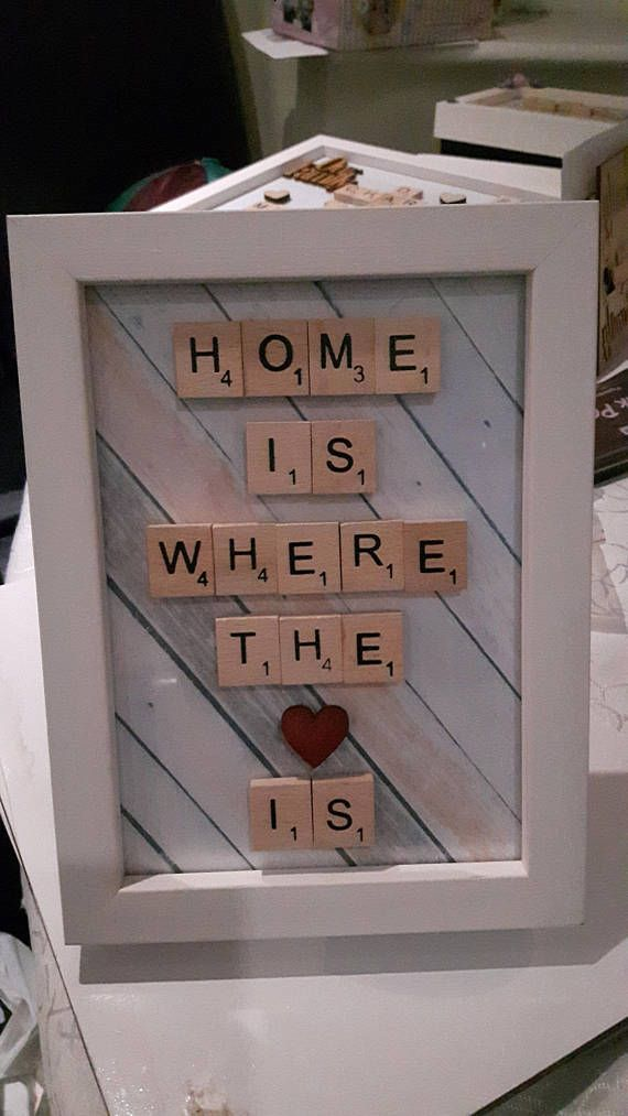 Check out this item in my Etsy shop https://www.etsy.com/uk/listing/564299283/scrabble-art-house-decor