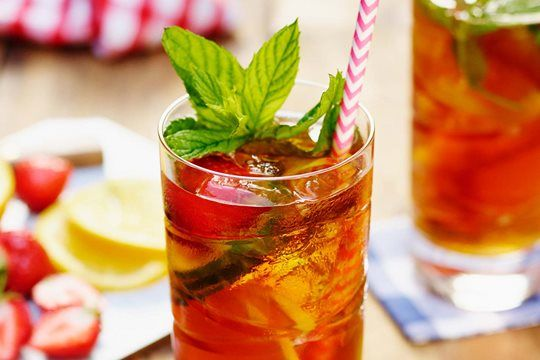 You can do plenty with Pimm's – a garnish here, lots more strawberries and cucumber there – but sometimes just a pour of lemonade makes for a great-tasting drink. #letscocktail