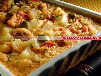 Receita de Torta de bacalhau - guia da cozinha