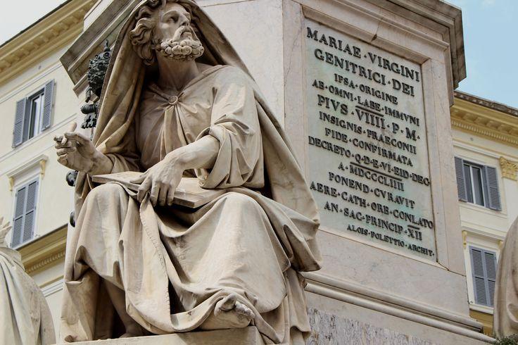 #Roma #Rome #Italy #statua #statue #PiazzaDiSpagna