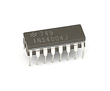 Intel 4004 - The first microprocessor was released