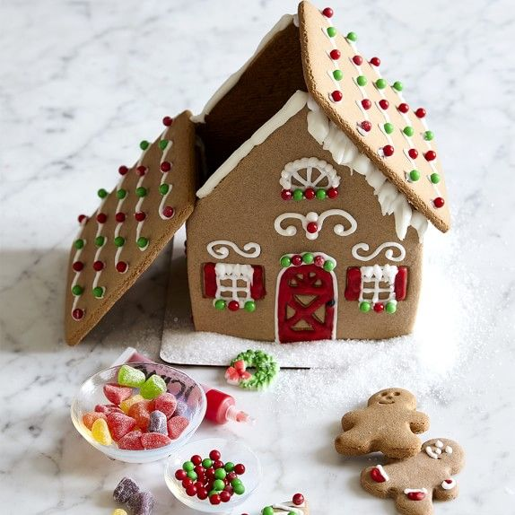 Williams Sonoma Gingerbread House Kit #williamssonoma
