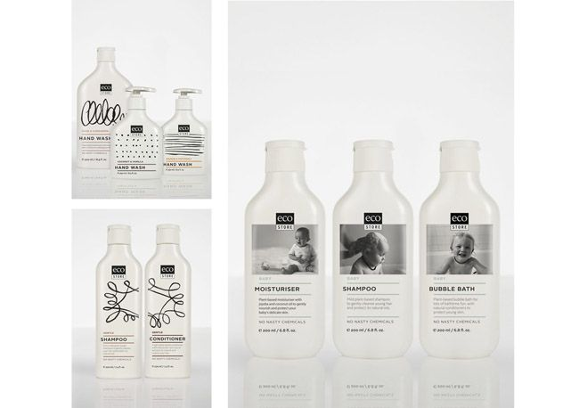 """Packaging of the World: Creative Package Design Archive and Gallery: Ecostore. """"Repinned by Keva xo""""."""