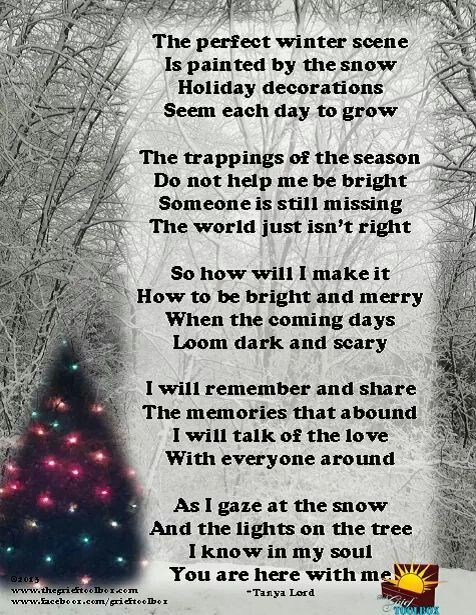 Christmas Quotes Loss Loved One: God Bless Everyone Missing A Loved One!