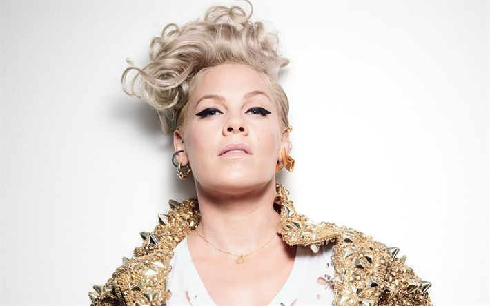 Download wallpapers PINK, American singer, 4k, portrait, photoshoot, Alecia Beth Moore